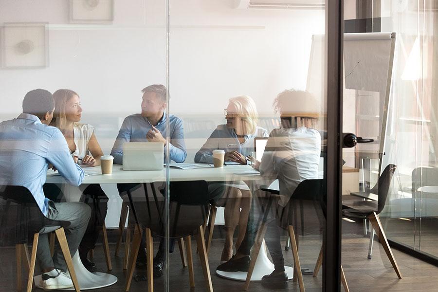 Header - Business Office Meeting